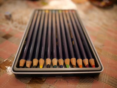 Colour pencil tips