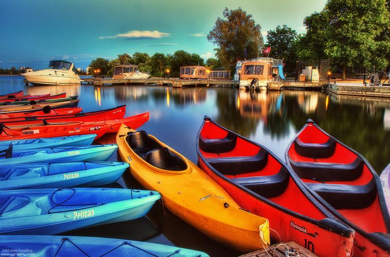 Dows Lake Marina