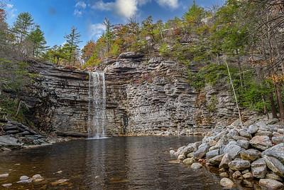 Awosting Falls Scenic