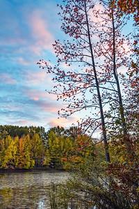 Twilight on Lake