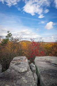 Autumn Split Rock