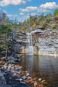 Awosting Falls Autumn