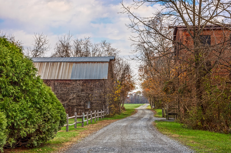Rural Country Road