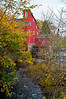 """Red Mill Autumn""<br /> <br /> A Fall view through the trees of the historic Red Mill in Clinton Township in New Jersey."