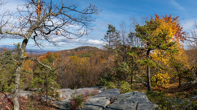 Mountaintop Fall Panorama