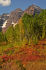 Glorious fall color at Maroon Bells