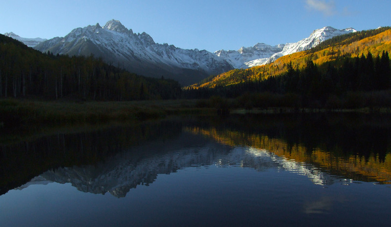 Mount Sneffels from near Blue Lakes Trailhead