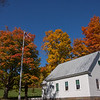 Autumn Schoolhouse