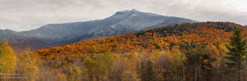 Mount Mansfield - Autumn Snow