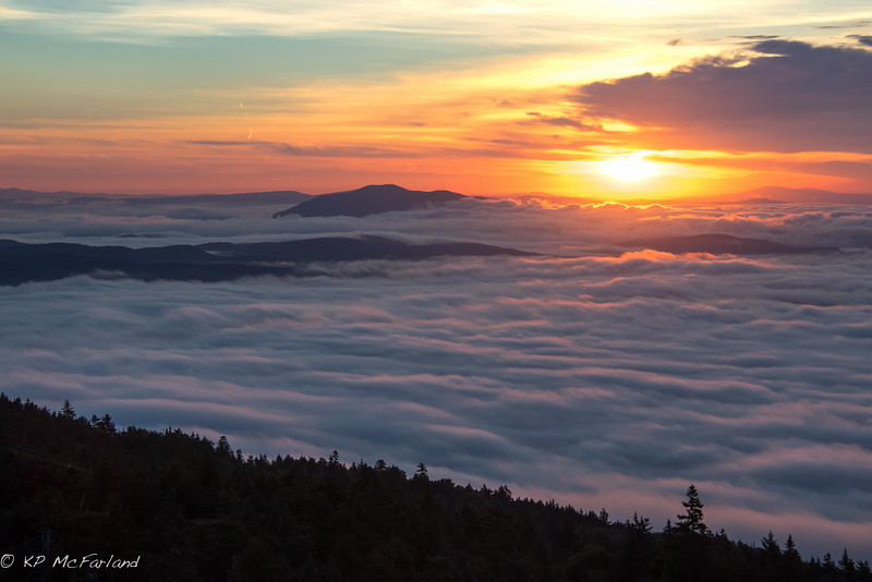 Sunrise from the Fire Tower