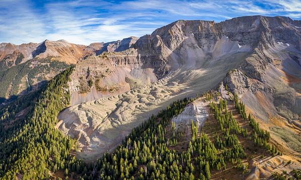 The Pierson Basin Rock Glacier