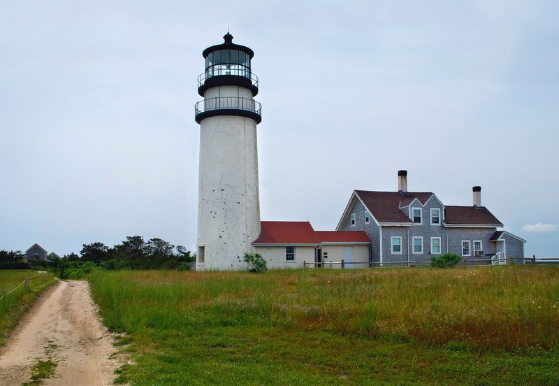 """Highland Lighthouse""<br /> A Summer view of the Highland Lighthouse in Truro on Cape Cod in Massachusetts."