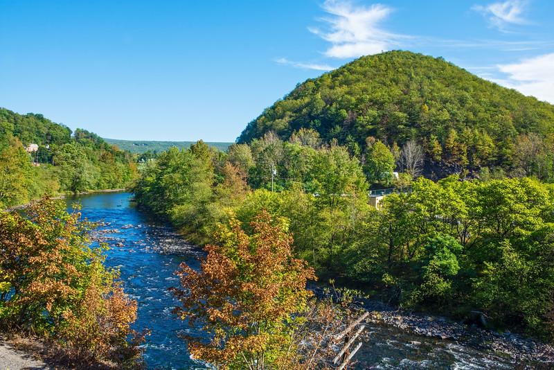 Scenic Lehigh River