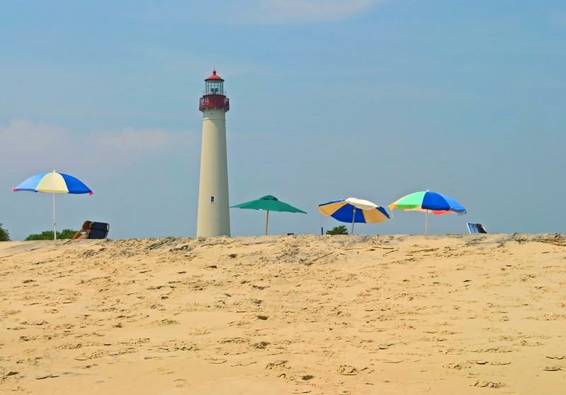"""Cape May Lighthouse View""<br /> The historic Cape May Lighthouse along the Jersey Shore."
