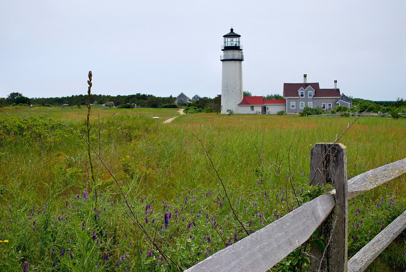 """Field and Lighthouse""<br /> <br /> A view from a field of the Highland Lighthouse in Truro Massachusetts on Cape Cod."