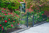 Rose Garden and Iron Gate