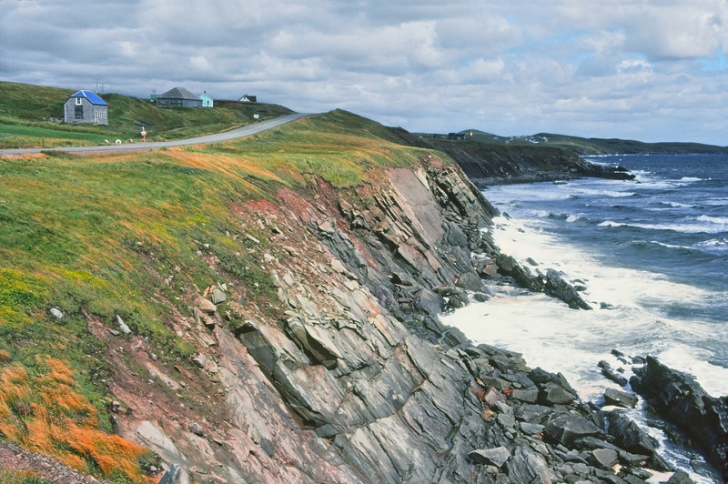 """Cape Breton, Nova Scotia""<br /> <br /> Cape Breton, Nova Scotia as seen June, 1981, film photography."