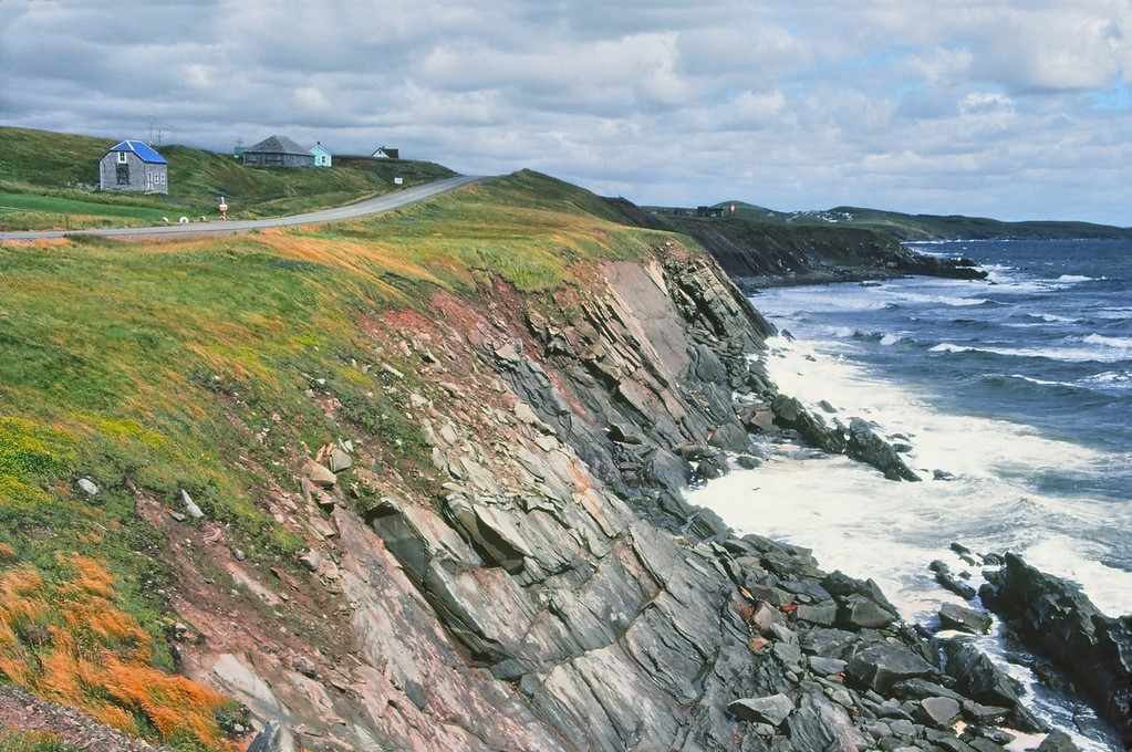 """""""Cape Breton, Nova Scotia""""  Cape Breton, Nova Scotia as seen June, 1981, film photography."""