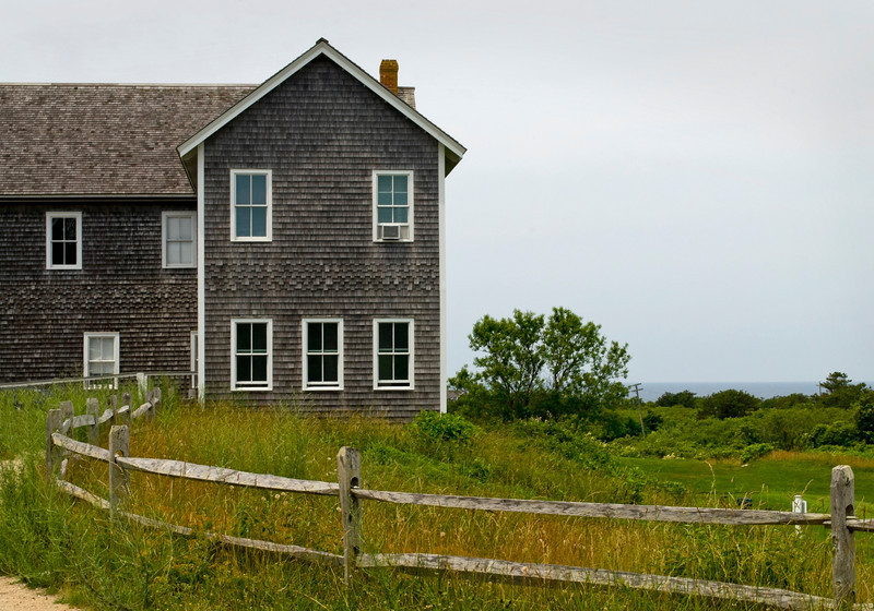 """Cape Cod Architecture""<br /> <br /> A building along the coastline of Cape Cod in Massachusetts"