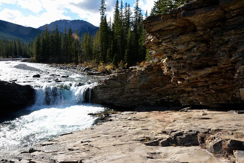 Sheep River Upper Falls, Alberta