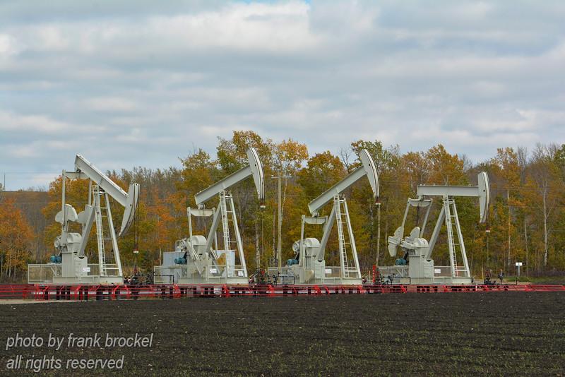 Pump Jacks at work in Alberta