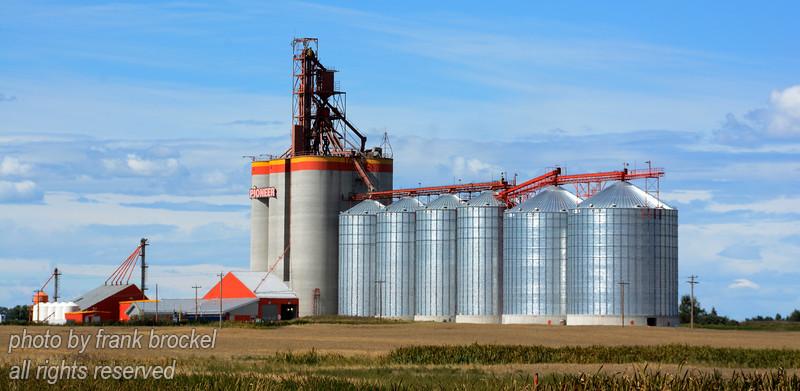 Grain Elevators near Carsland