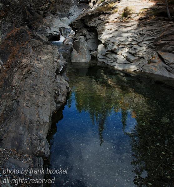 Blue Rock Creek in Sheep River Prov. Park, Alberta