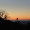 Sunset on the Smoky Mountains