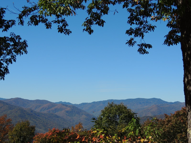 Smokey and Blue Ridge Fall - 2
