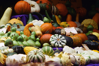 Squash at a Farmer's Market