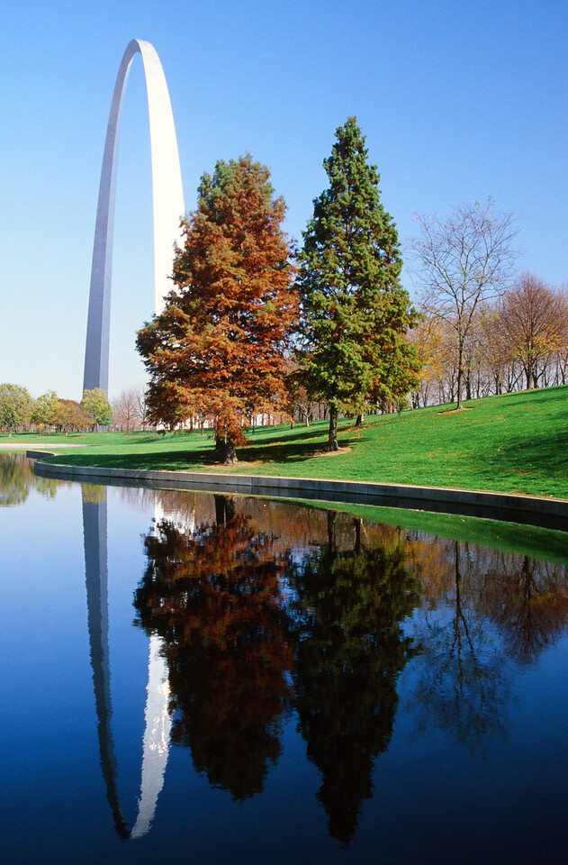 St. Louis Arch in Autumn