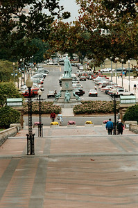 View from the Capitol Steps