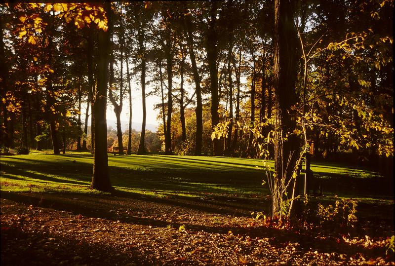 Fall 1st hole - Devil's Knob Golf Course