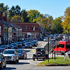 Main Street during leaf peeping season