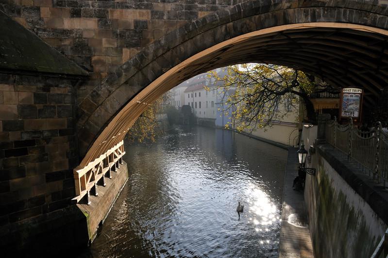 Along the Vitava River - Prague, Czech Republic
