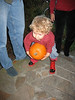 Alex and his pumpkin