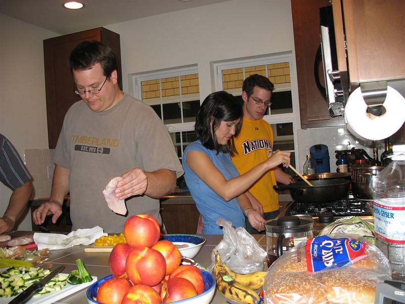 Mike und Kelly kochen