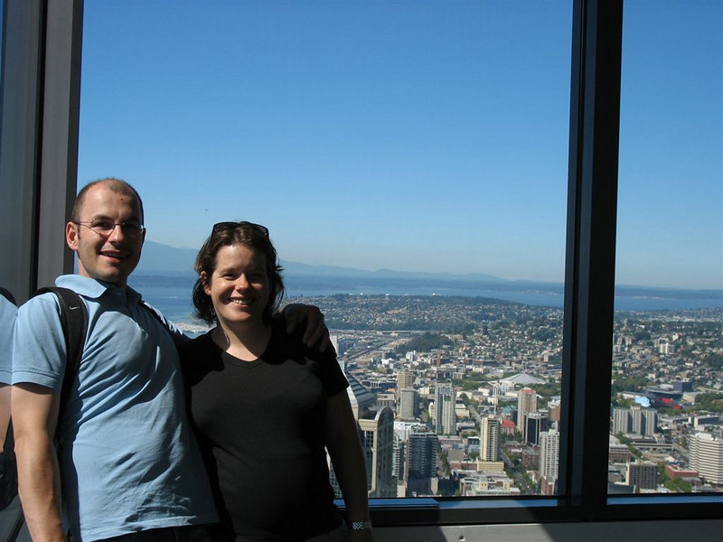Hoch über Seattle
