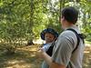 Tim mit Papa im Arboretum