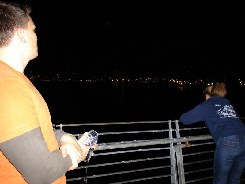 Nach dem 16h-Flug: Skyline bewundern