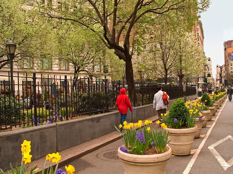 """Spring, Herald Square""<br /> An early Spring view near Herald Square in Manhattan."