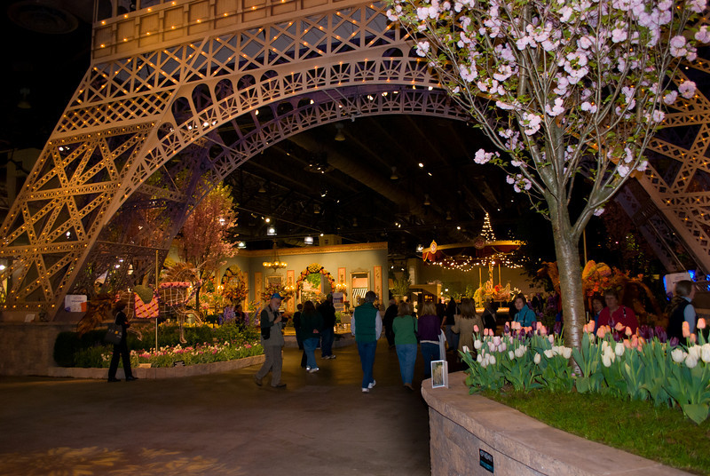 """Eifel Tower""<br /> Beautiful flower displays at the 2011 International Flower Show in Philadelphia."