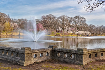 Branch Brook Park Lake and Fountain