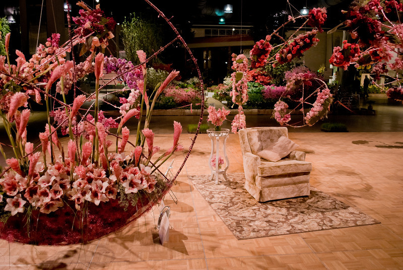 """Chair""<br /> Beautiful flower displays at the 2011 International Flower Show in Philadelphia."