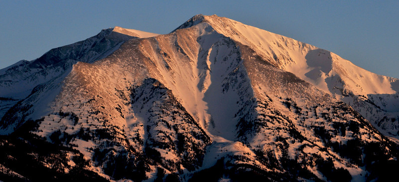 Twin Summits of Mount Sopris