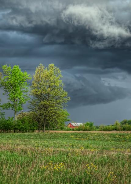 Ominous Sky of Spring