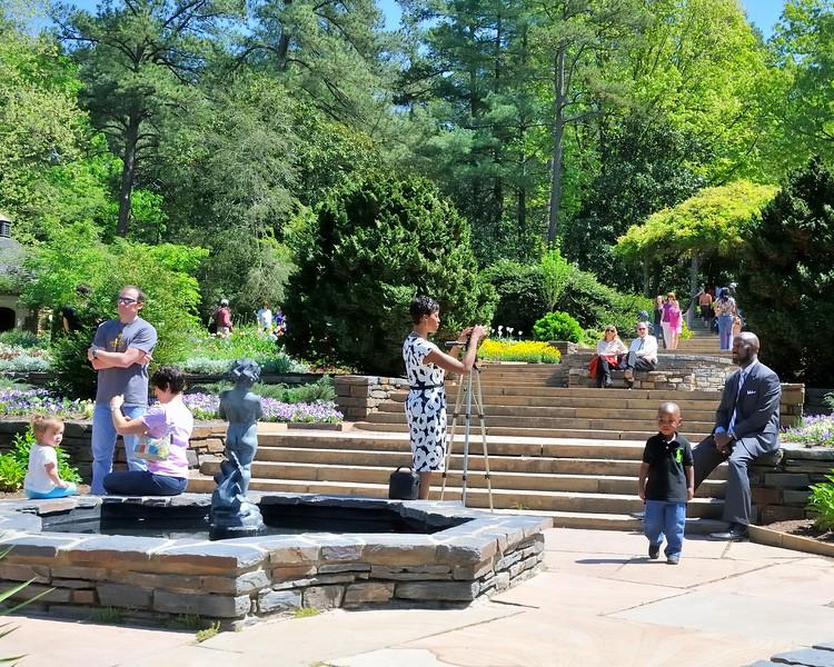 Easter pictures - Sarah P. Duke Gardens - Durham, NC