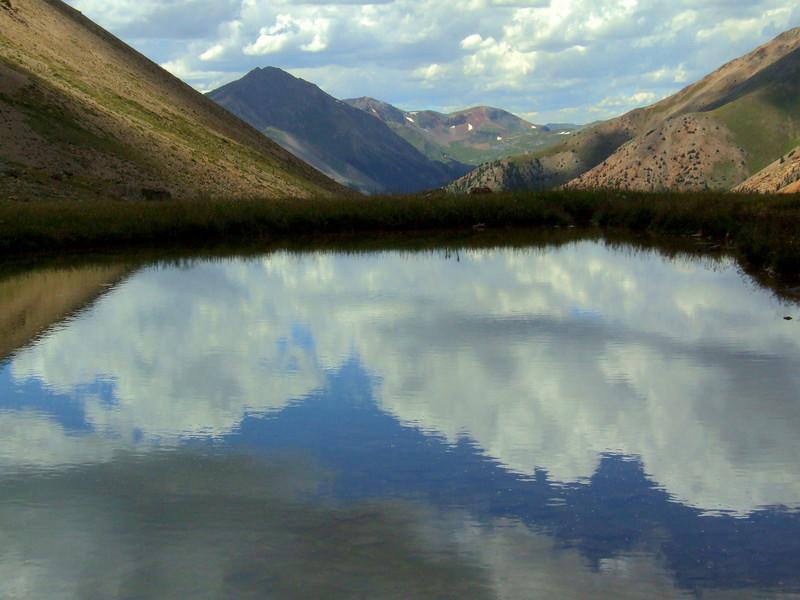 Silver Creek Tarn, Whitecross Mountain
