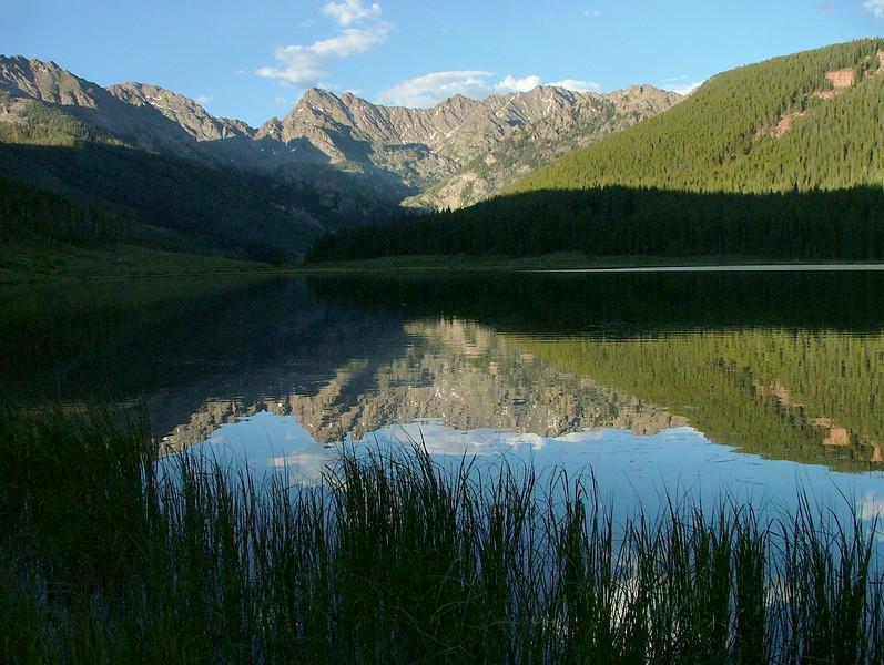 Piney Lake in the Gore Range
