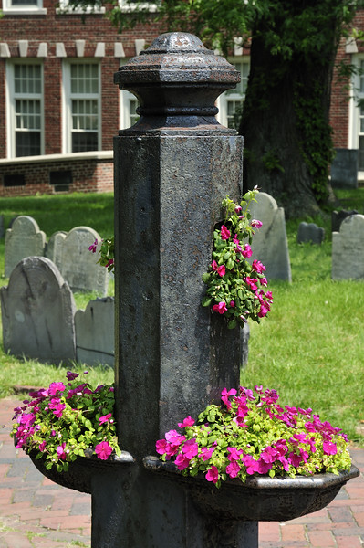 Copps Hill Burial Ground  - one of the oldest surviving graveyards in the country